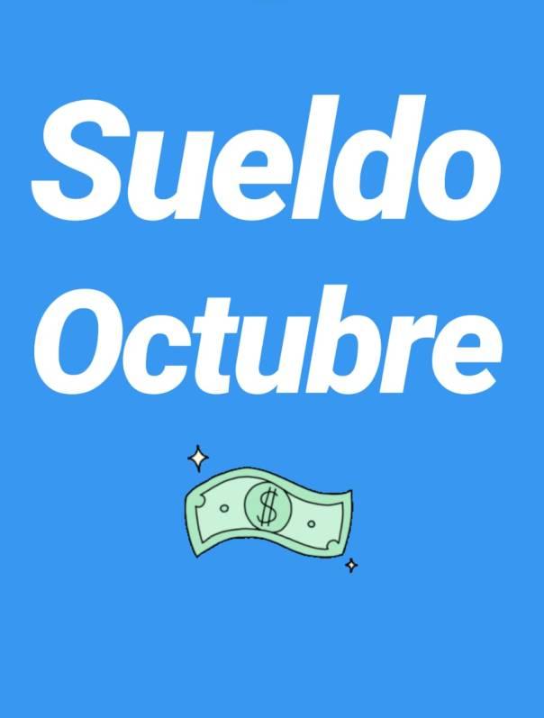 sueldo octubre