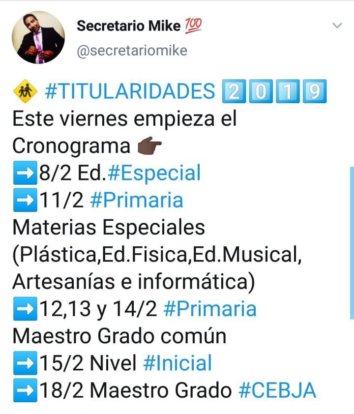 TITULARIDADES 2019